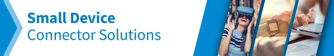 介绍关于连接器小型化的解决方案